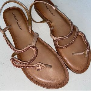 Antonio Melani Snake Sandals